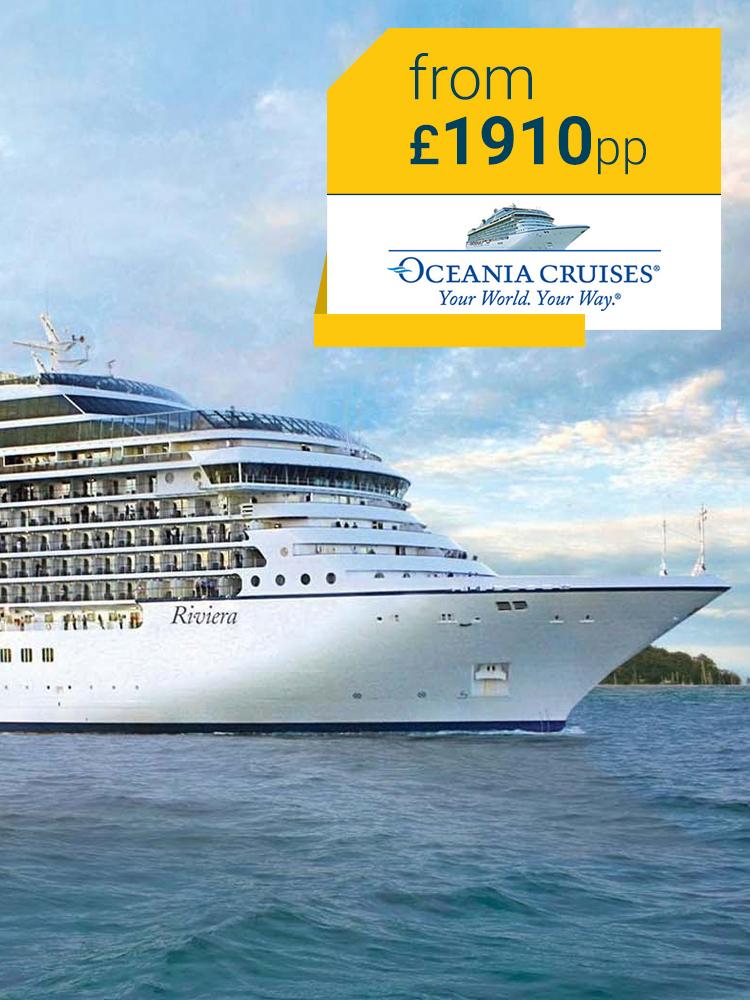 Oceania Cruises | TheCruiseguru co uk